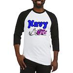 Navy Wife Baseball Jersey