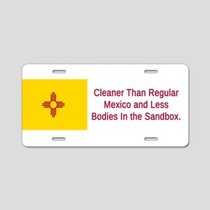 New Mexico Humor #5 Aluminum License Plate