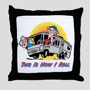 This Is How I Roll RV Throw Pillow
