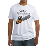 Castrate TeleMarketers Fitted T-Shirt