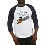 Castrate TeleMarketers Baseball Jersey
