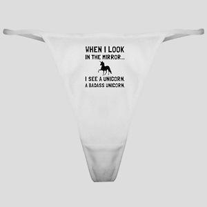 Badass Unicorn Classic Thong