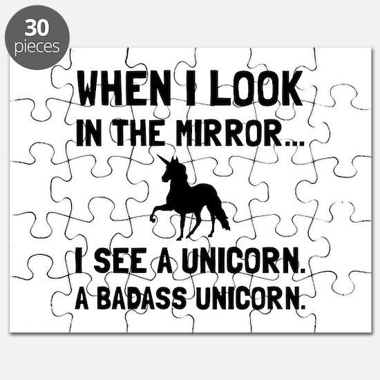 Badass Unicorn Puzzle