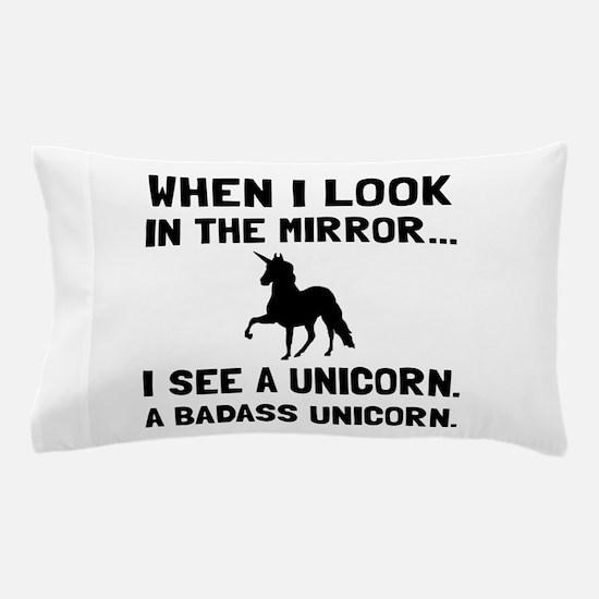 Badass Unicorn Pillow Case