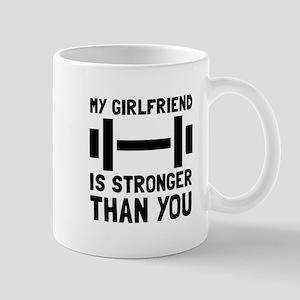 Girlfriend Stronger Mugs