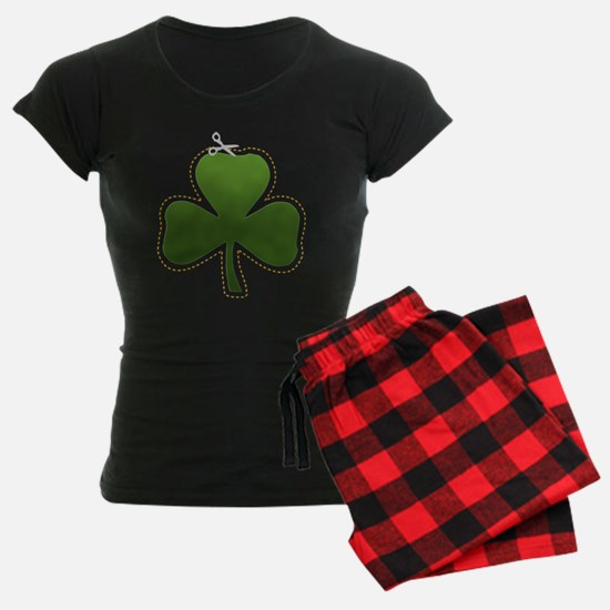 Cute Irish Shamrock Pajamas