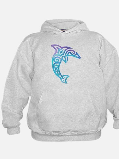 Tribal Dolphin Hoodie