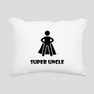 Super Uncle Rectangular Canvas Pillow
