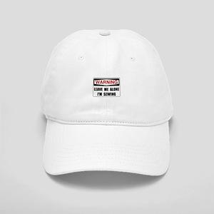 Warning Sewing Baseball Cap