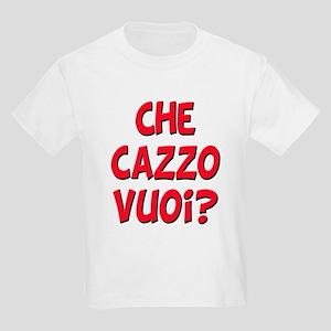 italian Che Cazzo Vuoi Kids Light T-Shirt