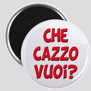 italian Che Cazzo Vuoi Magnet