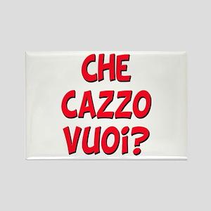 italian Che Cazzo Vuoi Rectangle Magnet