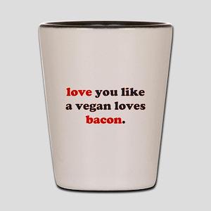 Vegan Bacon Shot Glass