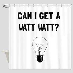 Watt Watt Shower Curtain