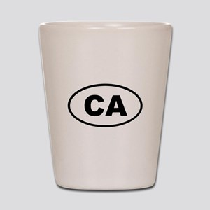 California CA Shot Glass