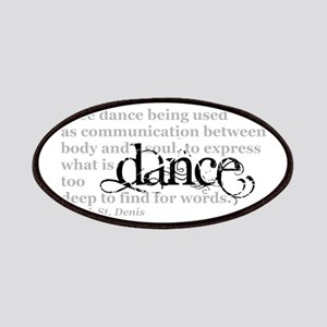 Dance Quote Patches