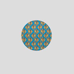 Tropical Fish  Mini Button