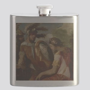 Francesco Maffei - Rinaldo and the Mirror-Sh Flask