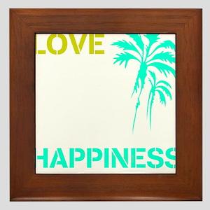 OYOOS Love Happiness design Framed Tile