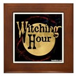 Witching Hour Framed Tile