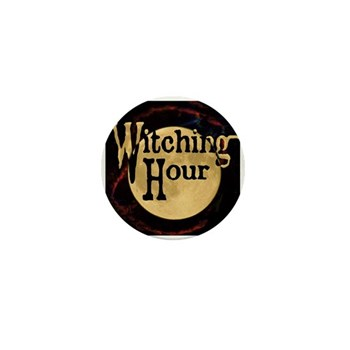 Witching Hour Mini Button