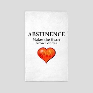 Abstinence 3'x5' Area Rug