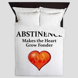 Abstinence Queen Duvet