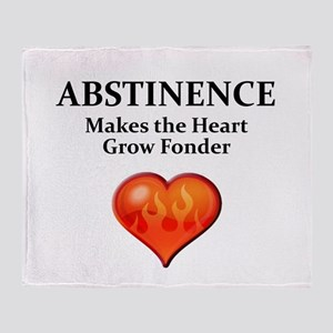 Abstinence Throw Blanket
