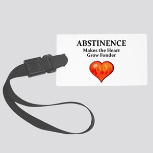 Abstinence Luggage Tag