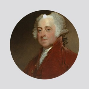 Gilbert Stuart - John Adams Round Ornament