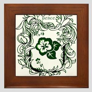 OYOOS Peace design Framed Tile