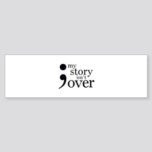 Semicolon Tattoo Project Bumper Sticker