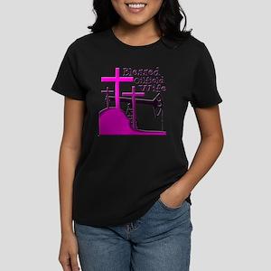Bless Oilfield Wife- Three Crosses T-Shirt