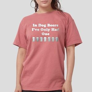 Dog beers on dark T-Shirt