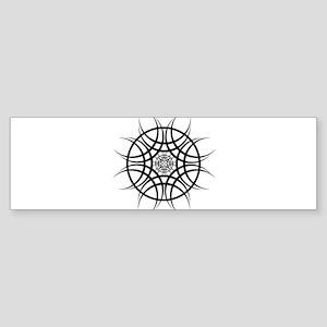 Tribal Sun Bumper Sticker