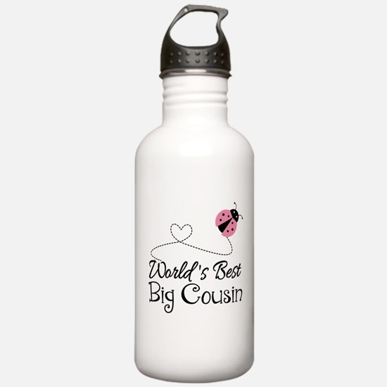 World's Best Big Cousin Water Bottle