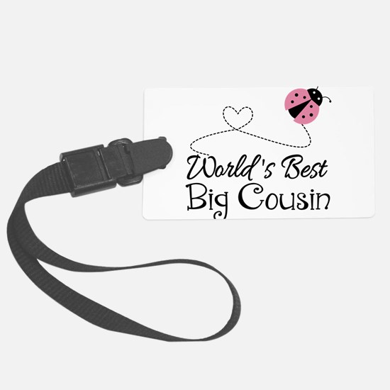 World's Best Big Cousin Luggage Tag