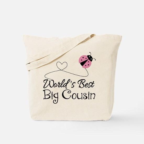 World's Best Big Cousin Tote Bag