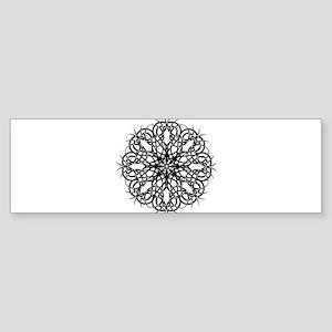 Tribal Bloom Bumper Sticker