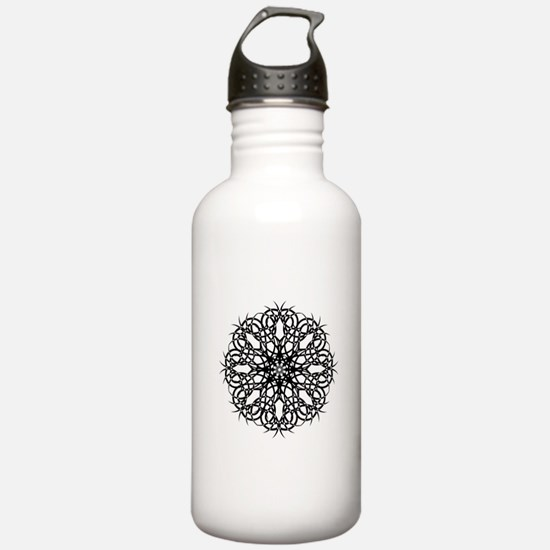 Tribal Bloom Water Bottle