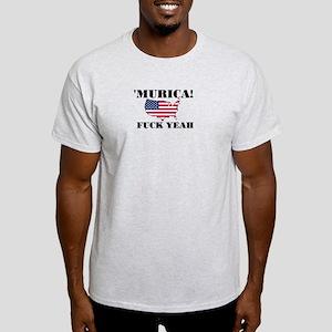 Murica Fuck Yeah Light T-Shirt