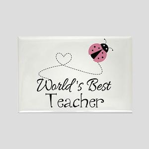 World's Best Teacher Rectangle Magnet