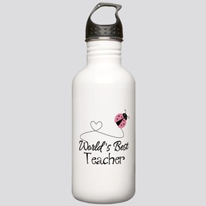 World's Best Teacher Stainless Water Bottle 1.0L