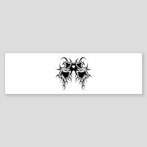 Tribal Wings Bumper Sticker