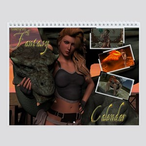 Women Of Fantasy Wall Calendar