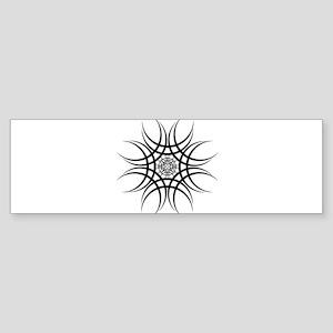 Tribal Flare Bumper Sticker