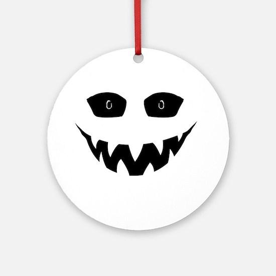 Evil Grin Ornament (Round)