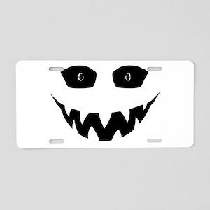 Evil Grin Aluminum License Plate