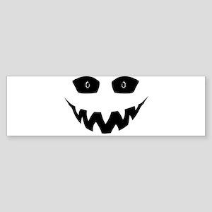 Evil Grin Bumper Sticker