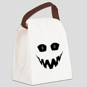 Evil Grin Canvas Lunch Bag
